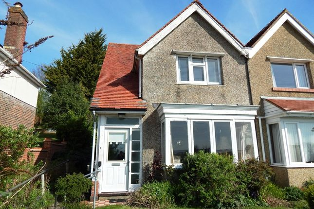 Thumbnail Semi-detached house for sale in Down End Road, Drayton, Portsmouth