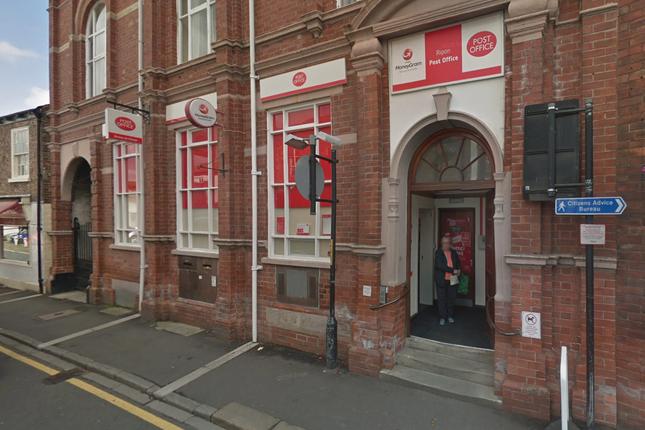 Thumbnail Retail premises for sale in 1 Finkle Street, Ripon