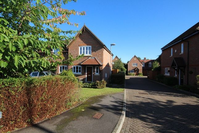 Thumbnail End terrace house to rent in Matthews Close, Earley, Reading