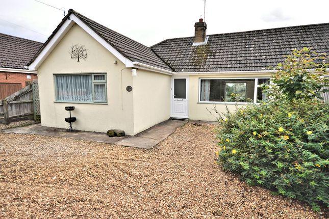 Thumbnail Semi-detached bungalow for sale in Sandy Lane, Ingoldisthorpe, King's Lynn