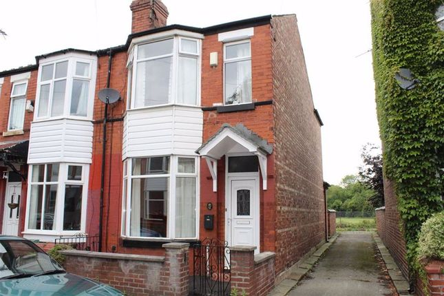 Thumbnail End terrace house for sale in Field Bank Grove, Levenshulme, Manchester