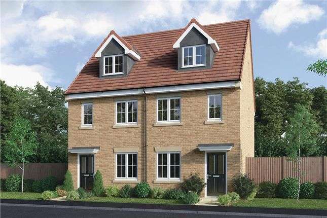 """Thumbnail Semi-detached house for sale in """"The Masterton"""" at Elm Avenue, Pelton, Chester Le Street"""