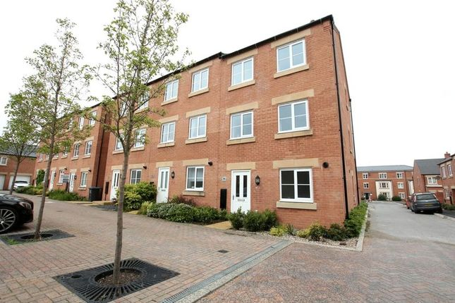 Thumbnail Town house for sale in Lucerne Road, Biddulph, Stoke-On-Trent