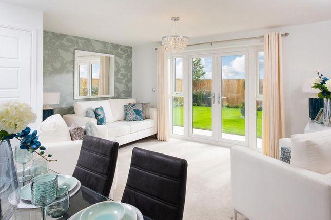 "Thumbnail Semi-detached house for sale in ""Folkestone"" at Heol Ty-Maen, Bridgend"