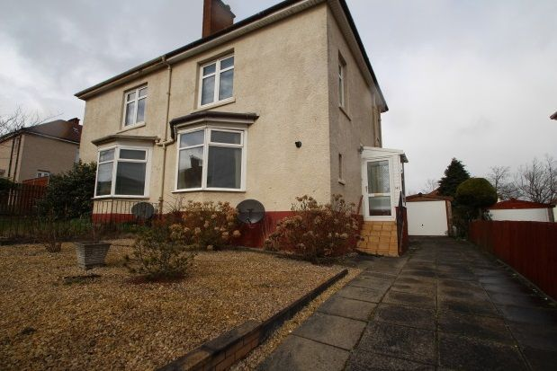 Thumbnail Semi-detached house to rent in Mansel Street, Springburn, Glasgow