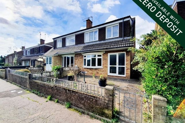 Thumbnail Property to rent in Claremont, Malpas, Newport
