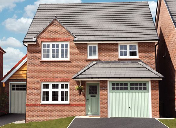 Thumbnail Detached house for sale in Park View, Coventry Road, Hinckley, Leicestershire