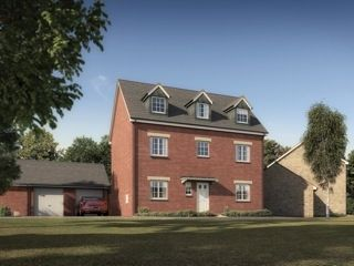 """Thumbnail Town house for sale in """"The Kipling"""" at West Down Court, Cranbrook, Exeter"""