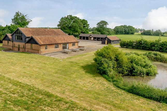 Thumbnail Detached house for sale in Little Green, Burgate, Diss, Norfolk