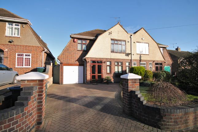 Thumbnail Semi-detached house for sale in Swinburne Avenue, Coventry