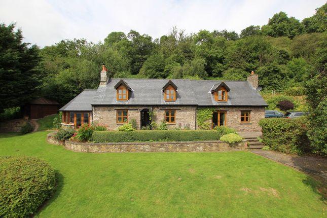 Thumbnail Detached house for sale in Cwmdu, Crickhowell