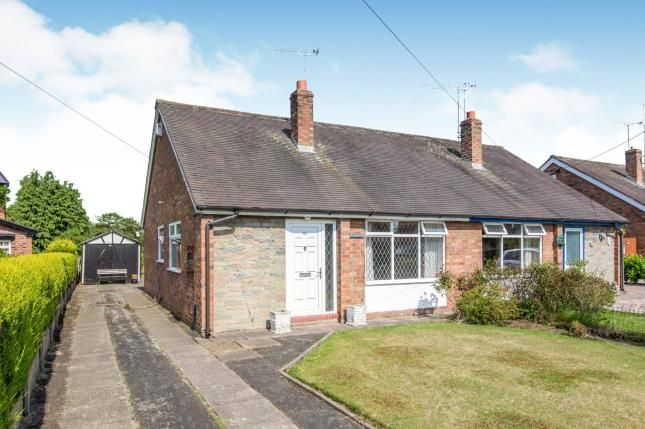 Thumbnail Bungalow for sale in Dig Lane, Wybunbury, Cheshire
