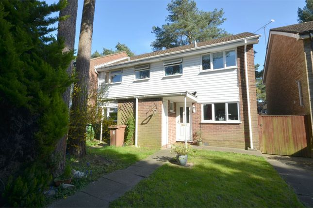 Thumbnail End terrace house for sale in Kielder Walk, Camberley, Surrey