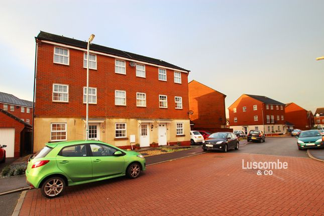 Thumbnail Town house to rent in Oystermouth Way, Coedkernew