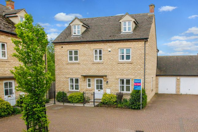 Thumbnail Detached house for sale in Northfield Farm Lane, Witney, Oxfordshire