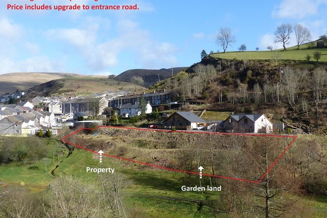 Land for sale in Off New Street, Pantygog, Bridgend, Mid Glamorgan.