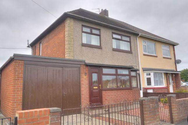 Semi-detached house for sale in Hartlands, Bedlington