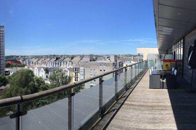 Thumbnail Flat for sale in Azure West, 1 Grand Hotel Road, The Hoe, Plymouth. Devon