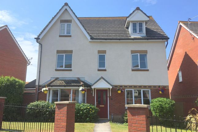 Thumbnail Detached house for sale in Clos Yr Wylan, Nells Point, Barry Island