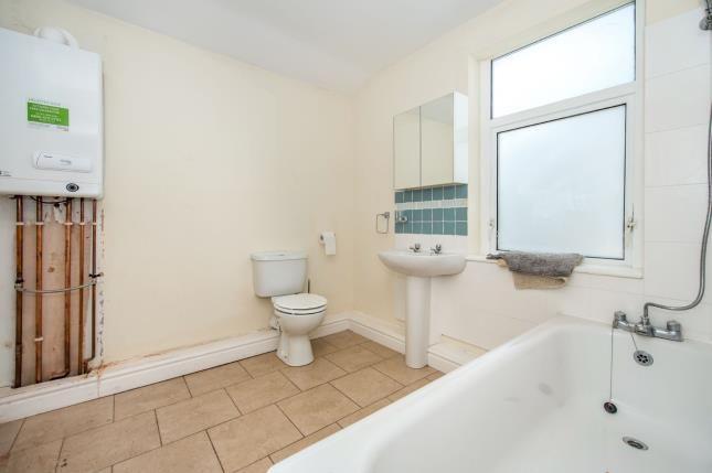 Bathroom of Rossett Street, Liverpool, Merseyside L6