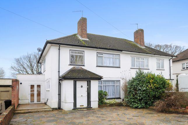 Thumbnail Semi-detached house to rent in Keswick Avenue, London