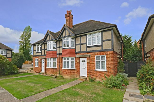 Thumbnail Maisonette to rent in Tregenna Close, Chase Road, London