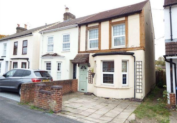 Thumbnail Semi-detached house for sale in Peabody Road, Farnborough, Hampshire