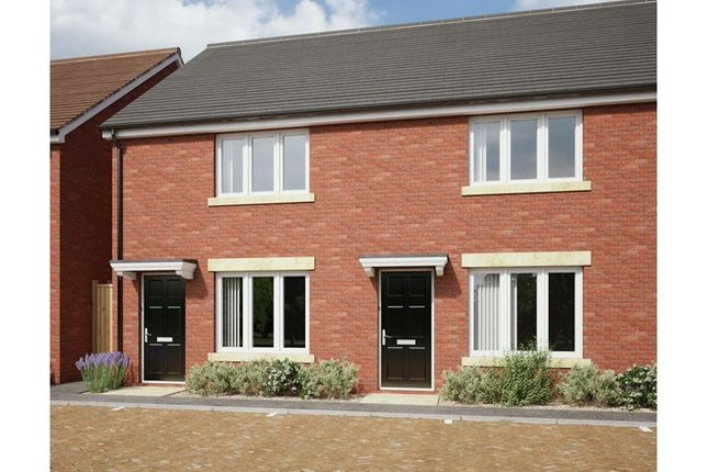 Thumbnail End terrace house for sale in The Cornfield, Hardwicke Grange, Foxwhelp Way, Quedgeley, Gloucestershire