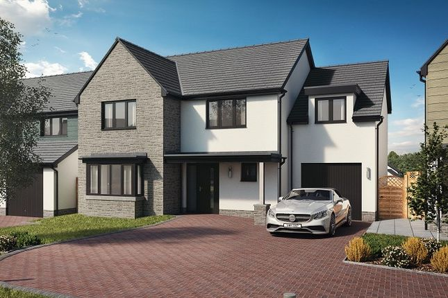 Thumbnail Detached house for sale in Plot 29, The Harlech (Integral), Caswell, Swansea