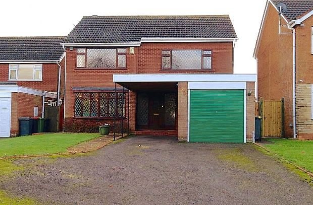 Thumbnail Detached house for sale in Farthing Lane, Curdworth, Sutton Coldfield, Warwickshire