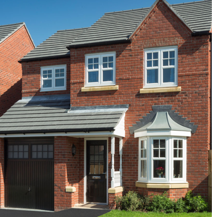 Thumbnail Detached house for sale in The Rufford 2, William Nadin Road, Swadlincote, Derby