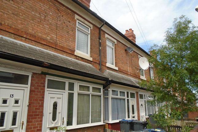 Thumbnail Property to rent in Ash Grove Clifton Road, Balsall Heath, Birmingham