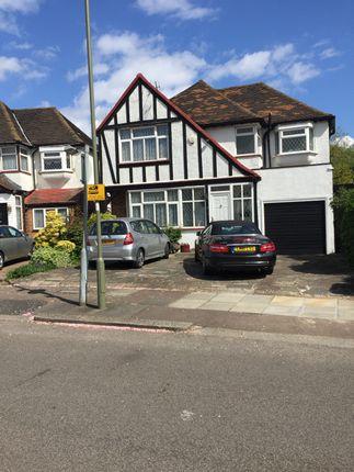 Thumbnail Detached house for sale in Parkside Drive, Edgware