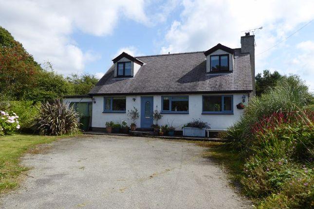 Thumbnail Detached house for sale in Llanrug, Caernarfon