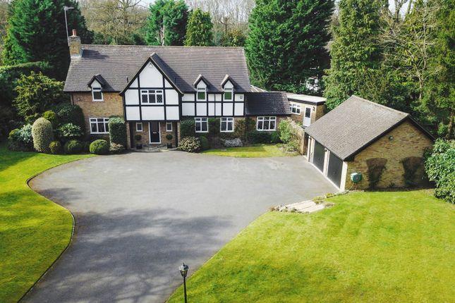 Thumbnail Detached house for sale in Cranley Road, Burwood Park, Hersham, Walton-On-Thames