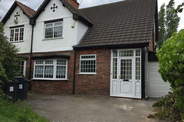 Thumbnail Semi-detached house to rent in Sandford Road, Moseley, Birmingham