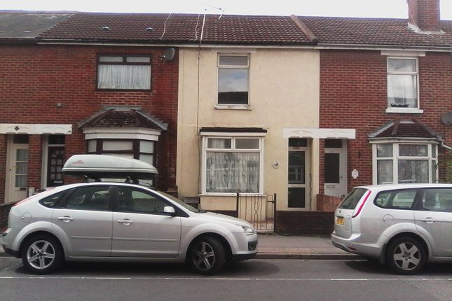 Thumbnail Terraced house to rent in High Street, Eastleigh