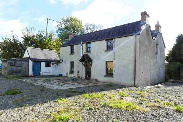 4 bed detached house for sale in Crows Nest, Fishguard Road, Haverfordwest, Pembrokeshire
