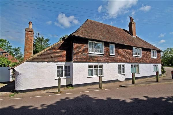 Thumbnail Semi-detached house for sale in Kings Head Cottage, The Green, Chartham