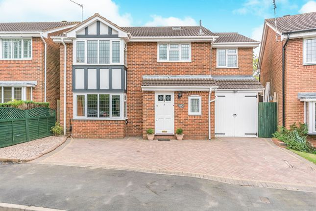Thumbnail Detached house for sale in Tanwood Close, Shirley, Solihull