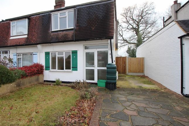 Thumbnail Semi-detached house for sale in Grasmere Avenue, Farnborough, Orpington