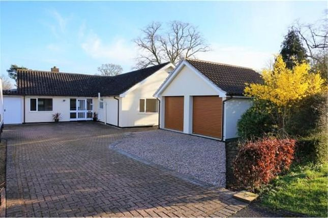 Thumbnail Detached bungalow for sale in Southgate Spinneys, South Rauceby, Sleaford, Lincolnshire