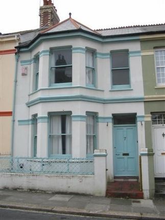 Thumbnail Town house to rent in Warleigh Road, Mutley, Plymouth