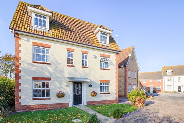 Thumbnail Detached house for sale in Hazel Close, Thorrington