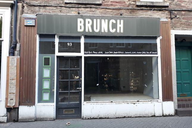 Thumbnail Retail premises to let in Rose Street, Edinburgh