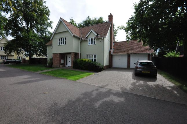 Thumbnail Detached house for sale in St. Georges Drive, Rickinghall, Diss