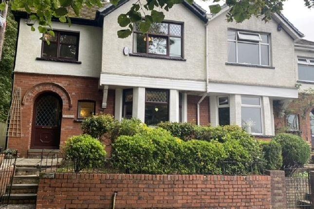 Thumbnail Semi-detached house for sale in Castleton Avenue, Tynewydd, Treherbert, Rhondda Cynon Taff.