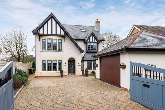 Thumbnail Detached house for sale in Meadow Drive, Prestbury, Macclesfield