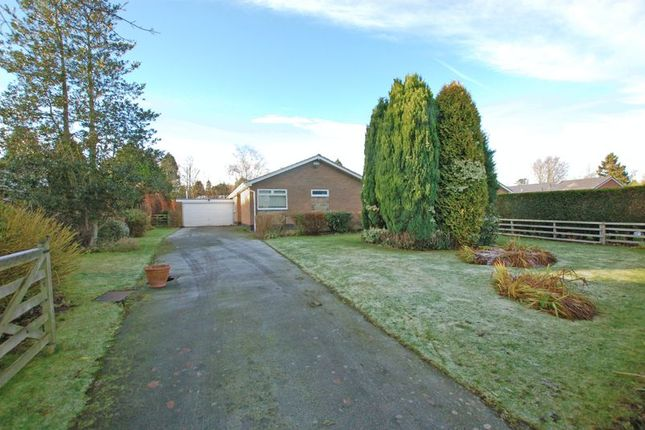 Thumbnail Bungalow for sale in Pembroke Drive, Ponteland, Newcastle Upon Tyne