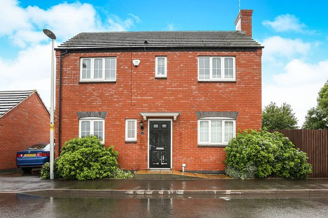 Thumbnail Detached house to rent in Hydes Pastures, Nuneaton